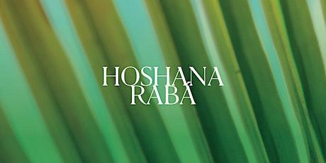 Hoshana Rabá 2020 | Conexões | SP ingressos