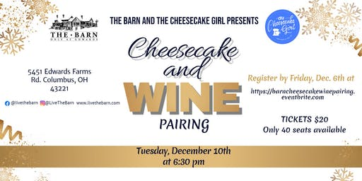 Cheesecake Wine Pairing