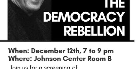 Film Screening: The Democracy Rebellion tickets