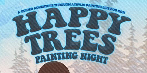 Happy trees painting night