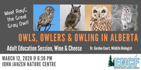 Owls, Owlers & Owling in Alberta tickets