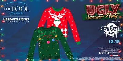 Wet 'N' Wild Wednesday with UGLY SWEATER PARTY at The Pool After Dark - FREE GUESTLIST