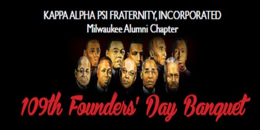 Kappa Alpha Psi Fraternity, Inc. 109th Founder's Day Banquet