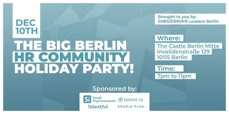 The Big Berlin HR Community Holiday Party tickets