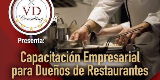 Capacitación Empresarial para Dueños de Restaurantes
