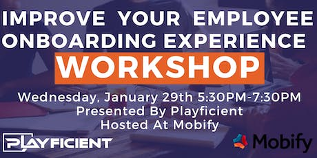 Create An Engaging Employee Onboarding Experience Workshop tickets
