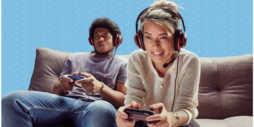 Family Fun Game Night at Microsoft Store