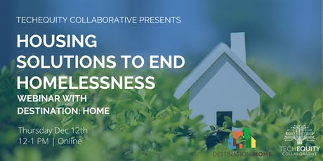 Housing Solutions to End Homelessness tickets