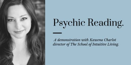 Psychic Demonstration tickets