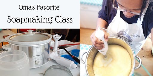 December Soapmaking Class