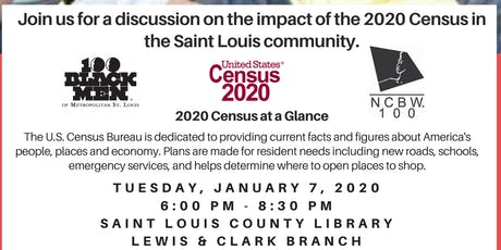 Impact of the 2020 Census on Saint Louis tickets