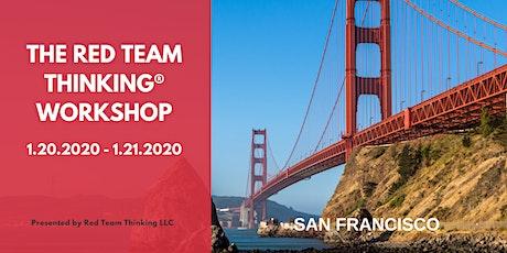 Red Team Thinking®  Workshop tickets