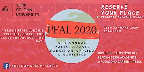 PFAL 2020 tickets