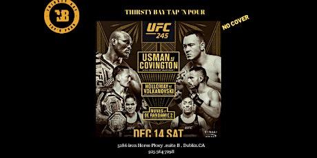 UFC 245   Three Champions ,Three titles  One Historic Night tickets