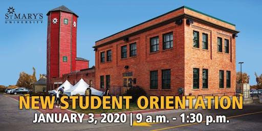 St. Mary's University New Student Orientation