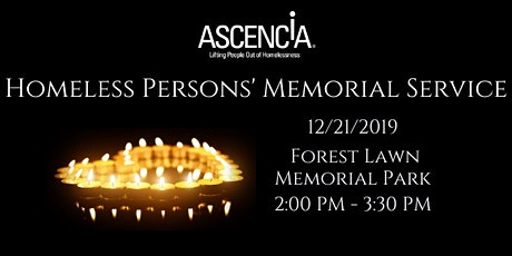 Homeless Persons' Memorial Service tickets
