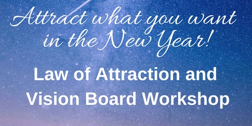 SPECIAL EVENT - Geeta's Law of Attraction and Vision Board Workshop