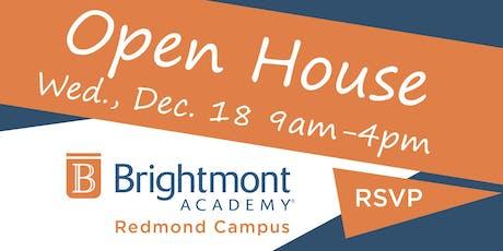 Brightmont Academy - Redmond Open House tickets