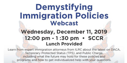 Demystifying Immigration Webcast