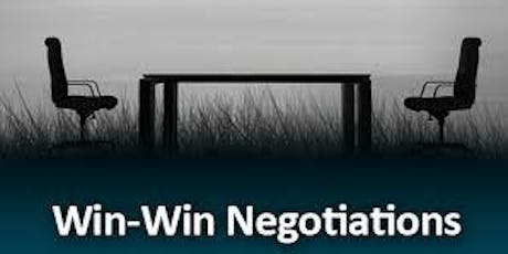 Learning How to Become A Better Negotiator tickets