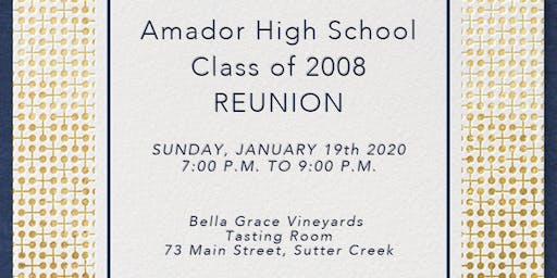 Amador High School Class of 2008 reunion