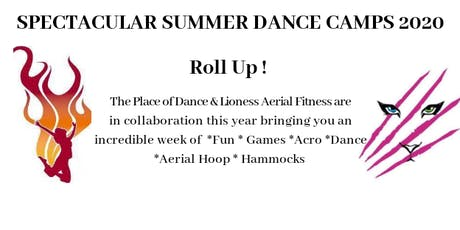Spectacular Summer Circus/ Dance Camp 2020 - Ages 6 - 8 tickets