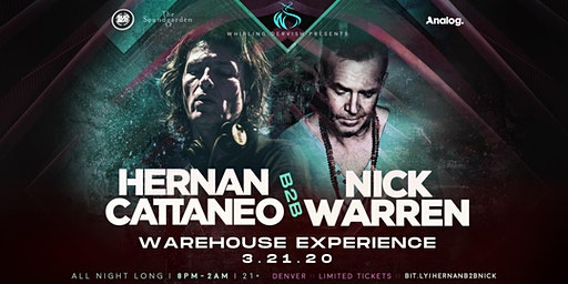 Hernan Cattaneo B2B Nick Warren Warehouse Experience | Denver