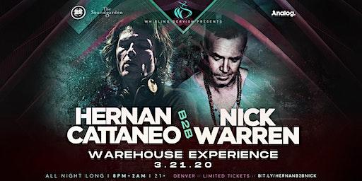Hernan Cattaneo B2B Nick Warren Warehouse Experience | Denver