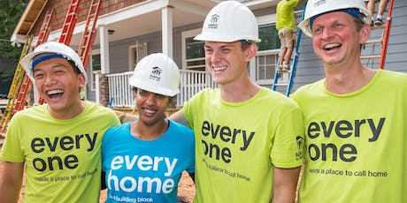 Volunteering with Habitat for Humanity tickets