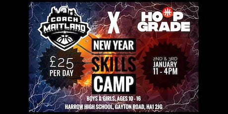 New Year Skills Camp with Coach Maitland and Hoop Grade tickets