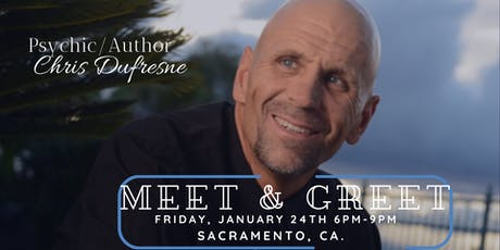 Psychic/Author Chris Dufresne Meet & Greet tickets