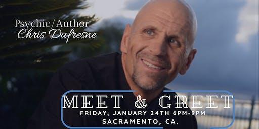 Psychic/Author Chris Dufresne Meet & Greet