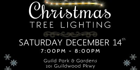 Christmas Tree Lighting at Guild Park  tickets