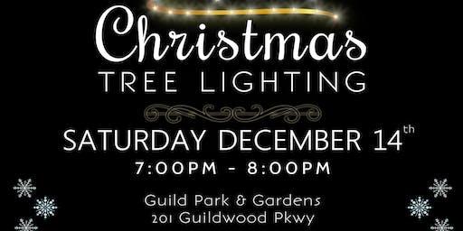 Christmas Tree Lighting at Guild Park