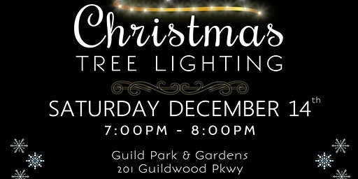 Christmas Tree Lighting at Guild Park