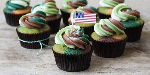 Warrenville Girl Scouts host Cupcakes and Cans for Vets!