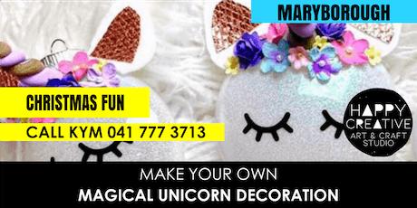 Unicorn Christmas Decorations tickets