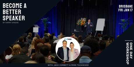 Become A Better Speaker With Harry Singha tickets