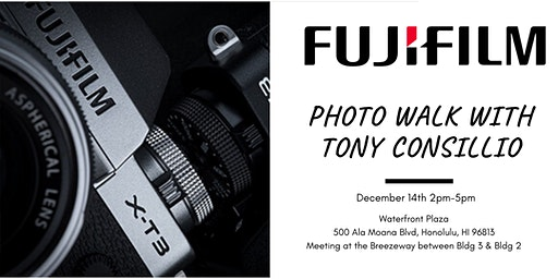 Photo Walk with Tony Consillio