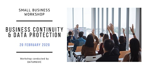 Business Continuity & Data protection - Small Business Workshop tickets
