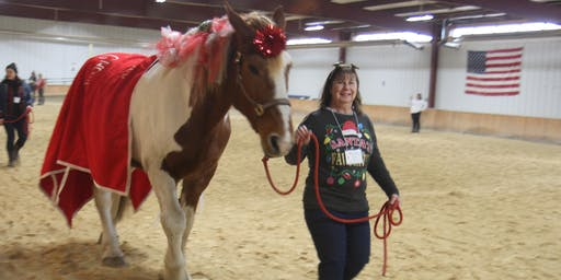 BraveHearts Holiday Party - A Holiday Celebration with Santa and the Horses
