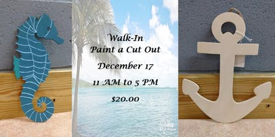 Walk-In: Paint a Cut Out