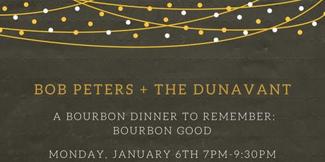 A Bourbon Dinner to Remember: BOURBON GOOD tickets