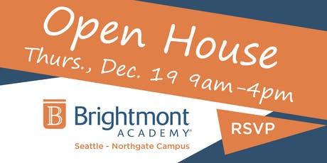 Brightmont Academy - Seattle Open House tickets