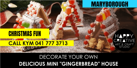 """Mini """"Gingerbread"""" House tickets"""