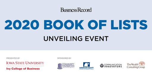 2020 Book of Lists Unveiling