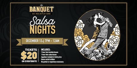 Salsa Night at the Banquet! tickets