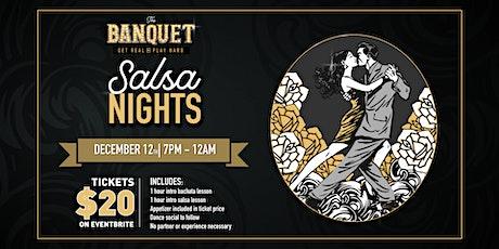 Salsa Night at the Banquet! tickets