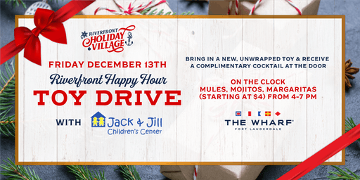 Riverfront Happy Hour Toy Drive