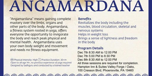Angamardana: The Ultimate Fitness Session (Isha Hatha Yoga)
